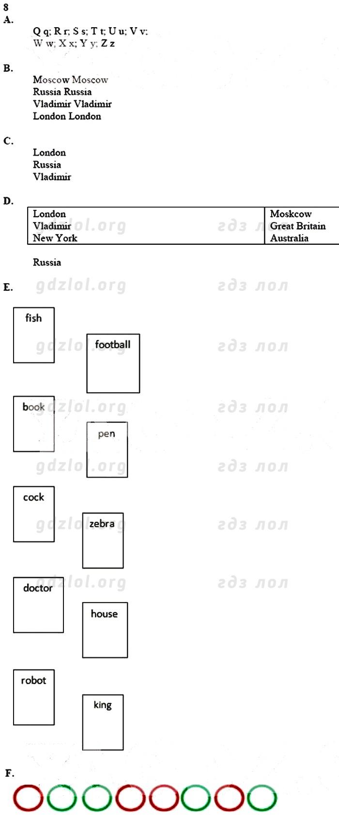 Forward english activity book 2 класс ответы