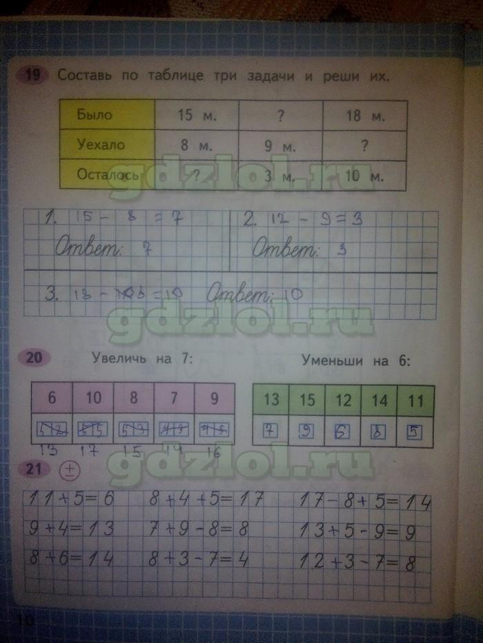 Математика моро волкова 1 часть 33 страница 1 класс рабочая тетрадь