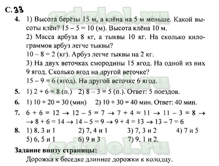 ГДЗ Математика 2 класс Моро