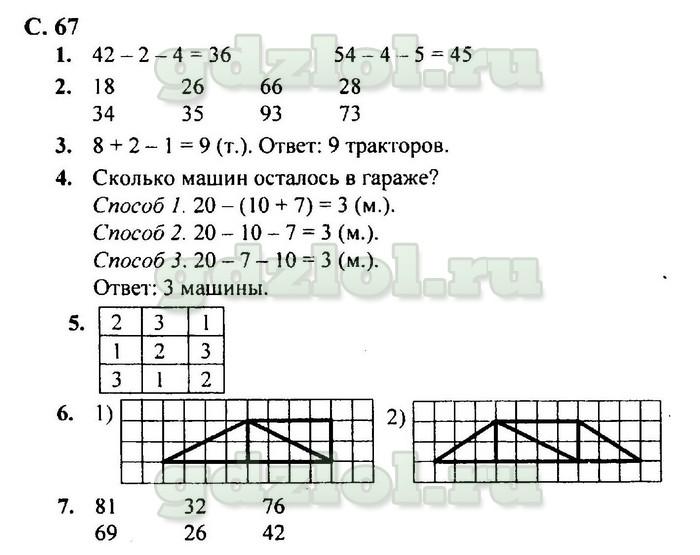Гдз по математике 2 класс моро школа россии 2018 год