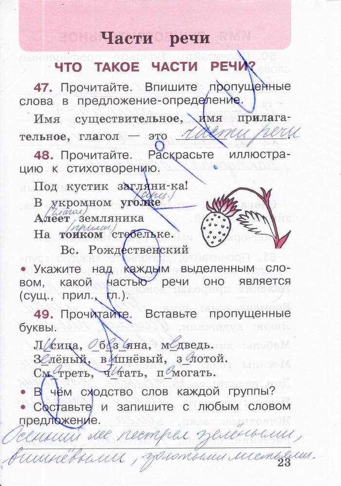 Русский язык — 3 класс — Тетрадь учебных достижений — ФГОС — Валентина Канакина