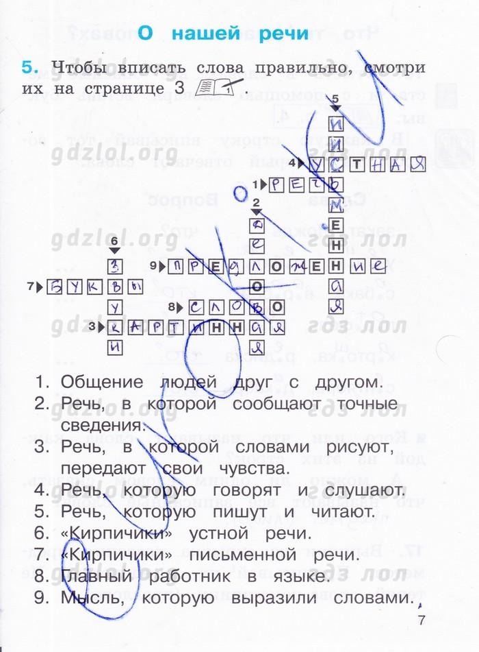 соловейчик 4 класс русский язык решебник учебник