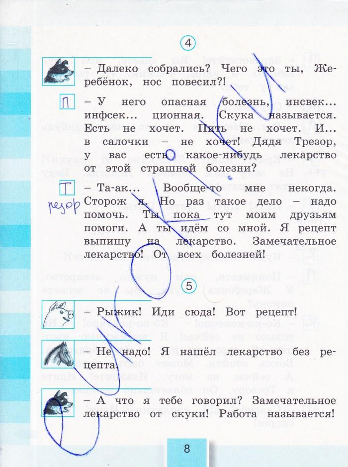 Класс ответы кубасова по литературе 2 решебник рабочая тетрадь