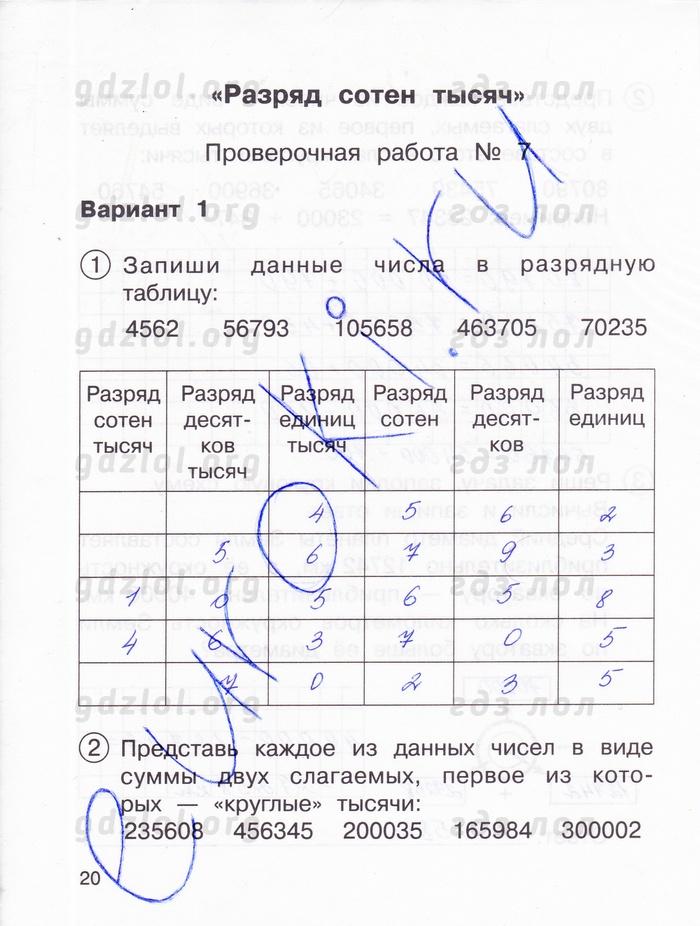 Решебник По Математике 1 Класс Чураковой