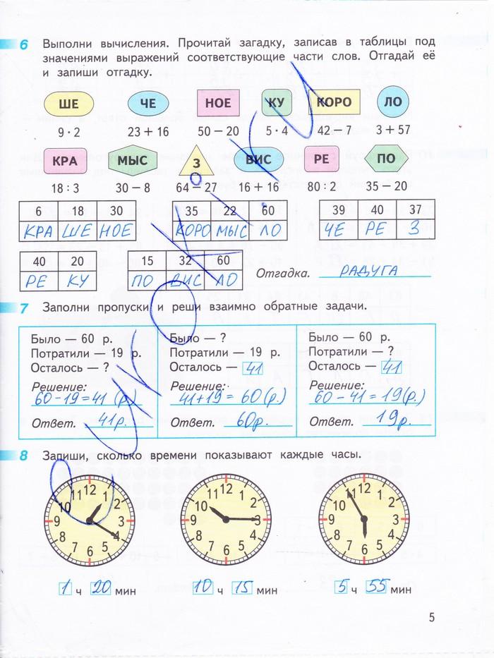 математика перспектива 1 часть решебник