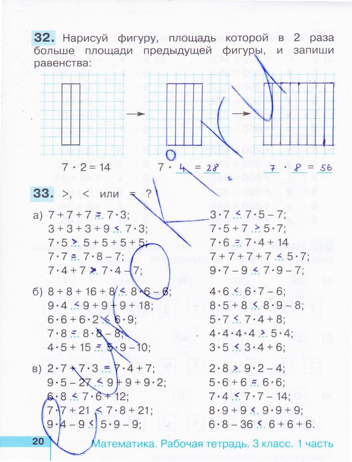 Решебник По Тетради По Математике 4 Класс Истомина Редько