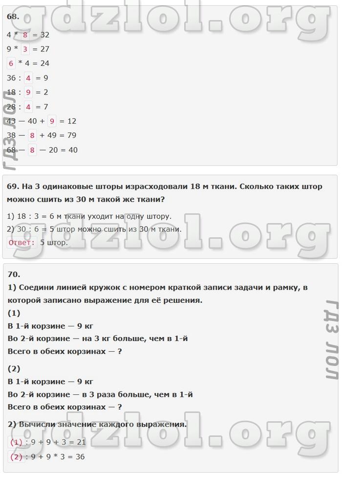Гдз Путина по Математике 4 Класс Моро 1 Часть Рабочая Тетрадь