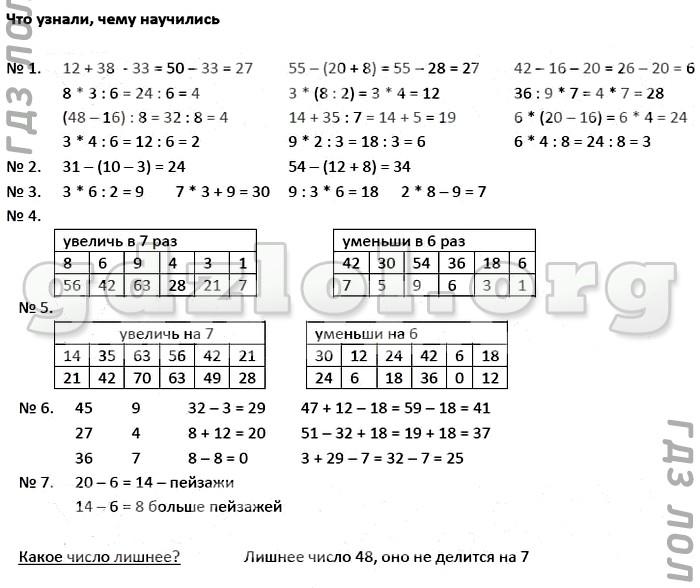Гдз по тестам по математике 4 класс к учебнику моро и др ответы без скачивания