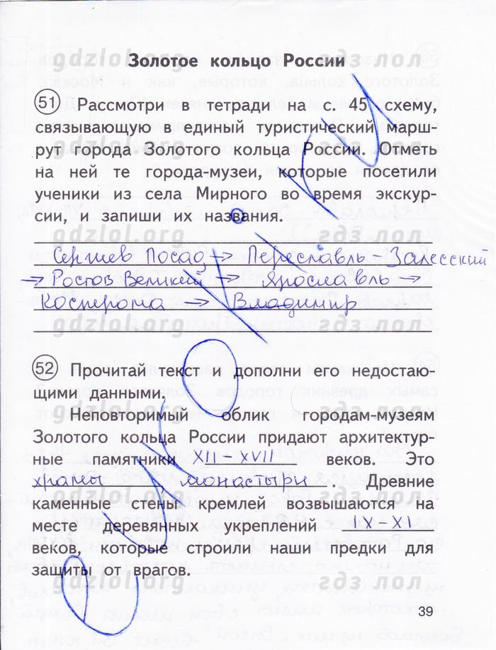 Гдз Проверочные Работы по Окружающему Миру Вахрушев 2 Класс Рабочая Тетрадь