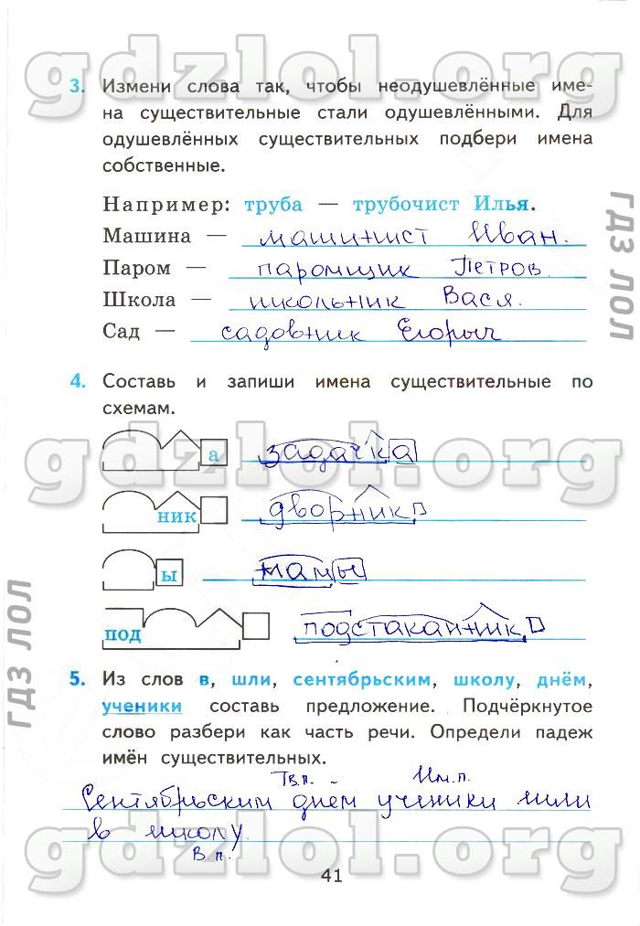 гдз по русскому языку зачетные работы 9 класс никулина