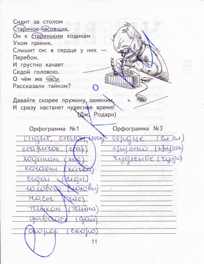 Гдз по русскому 4 класс байкова рабочая