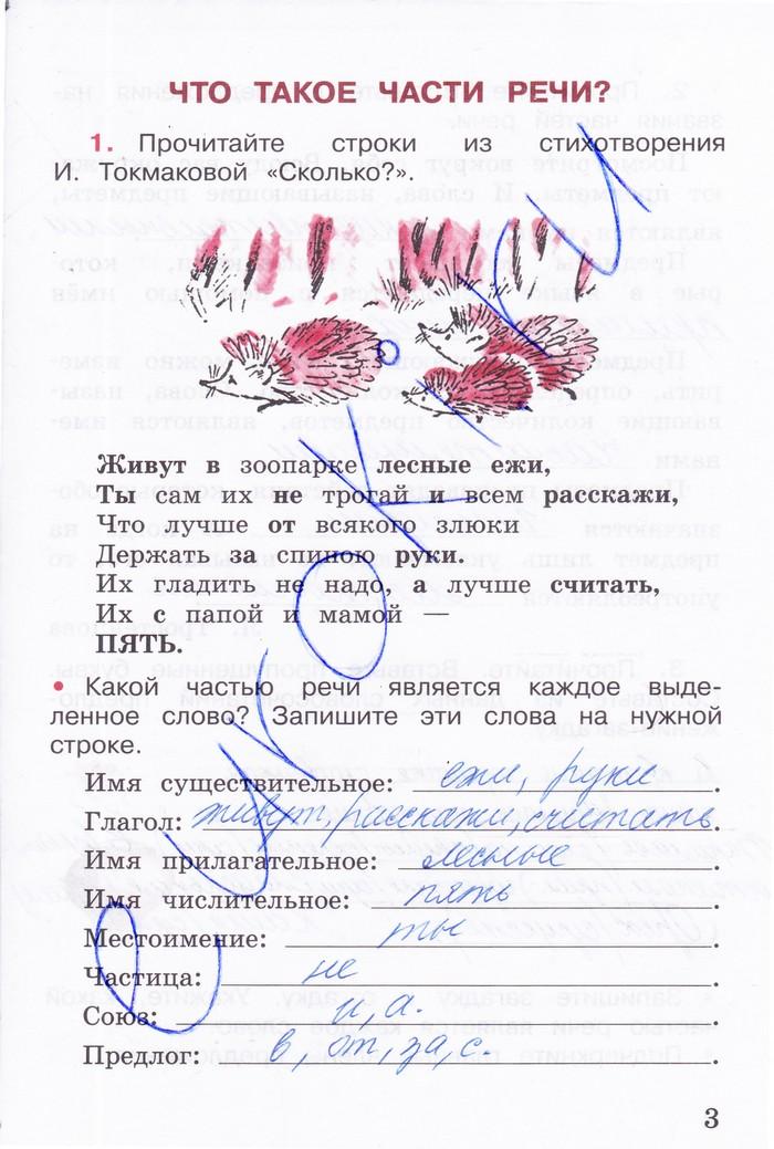 гдз русский 1 класс канакина рабочая тетрадь