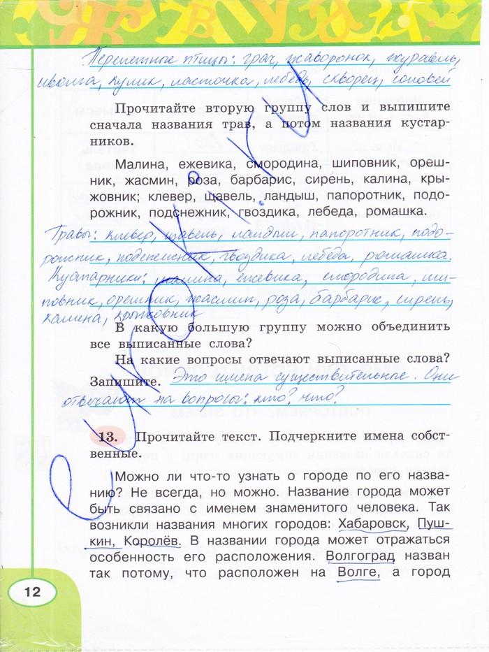 Климанова 3 русскому класс по за готовые языку домашние задания