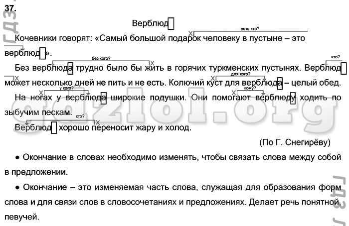 Домашнее задание по русскому языку 3 класс т.г рамзаева