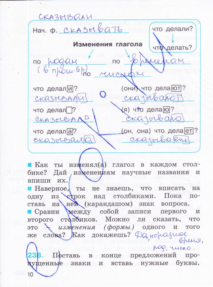 3 класса русский язык гдз м.с нс