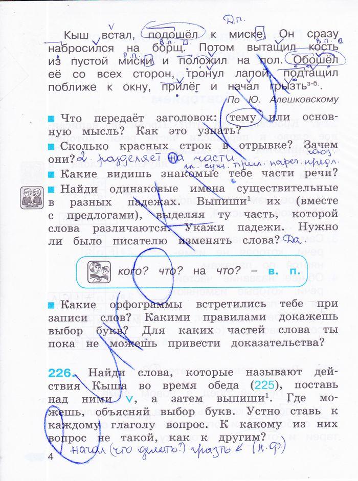 Скачать гдз по русскому языку 4 класс на выбор учебников