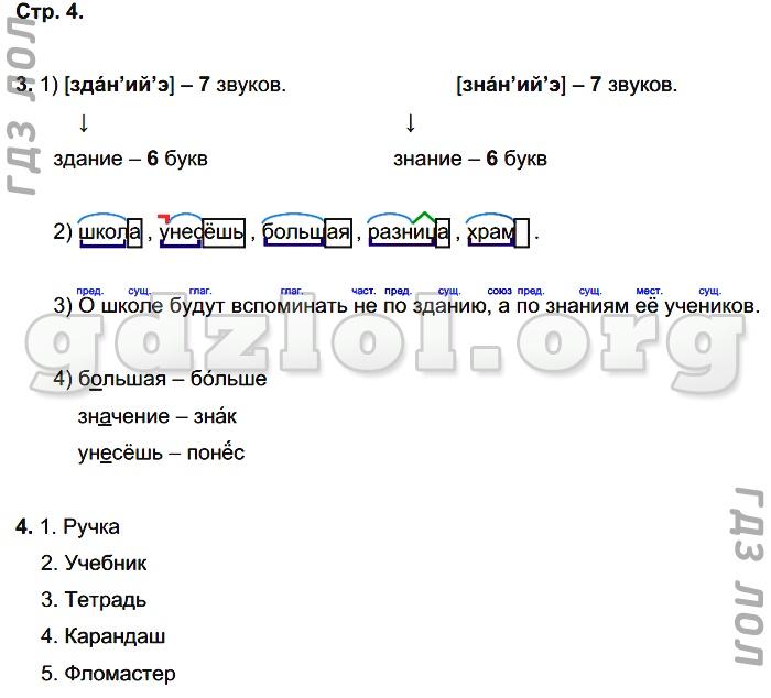 3 класс русский язык автор желтовская