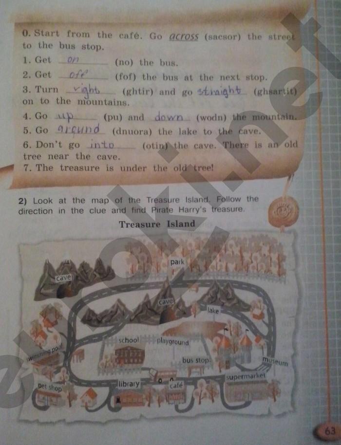 гдз по английскому 11 класс кузовлев рабочая тетрадь страница 62