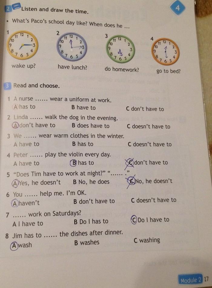 Гдз по английскому языке 4 класс spotlight рабочая тетрадь