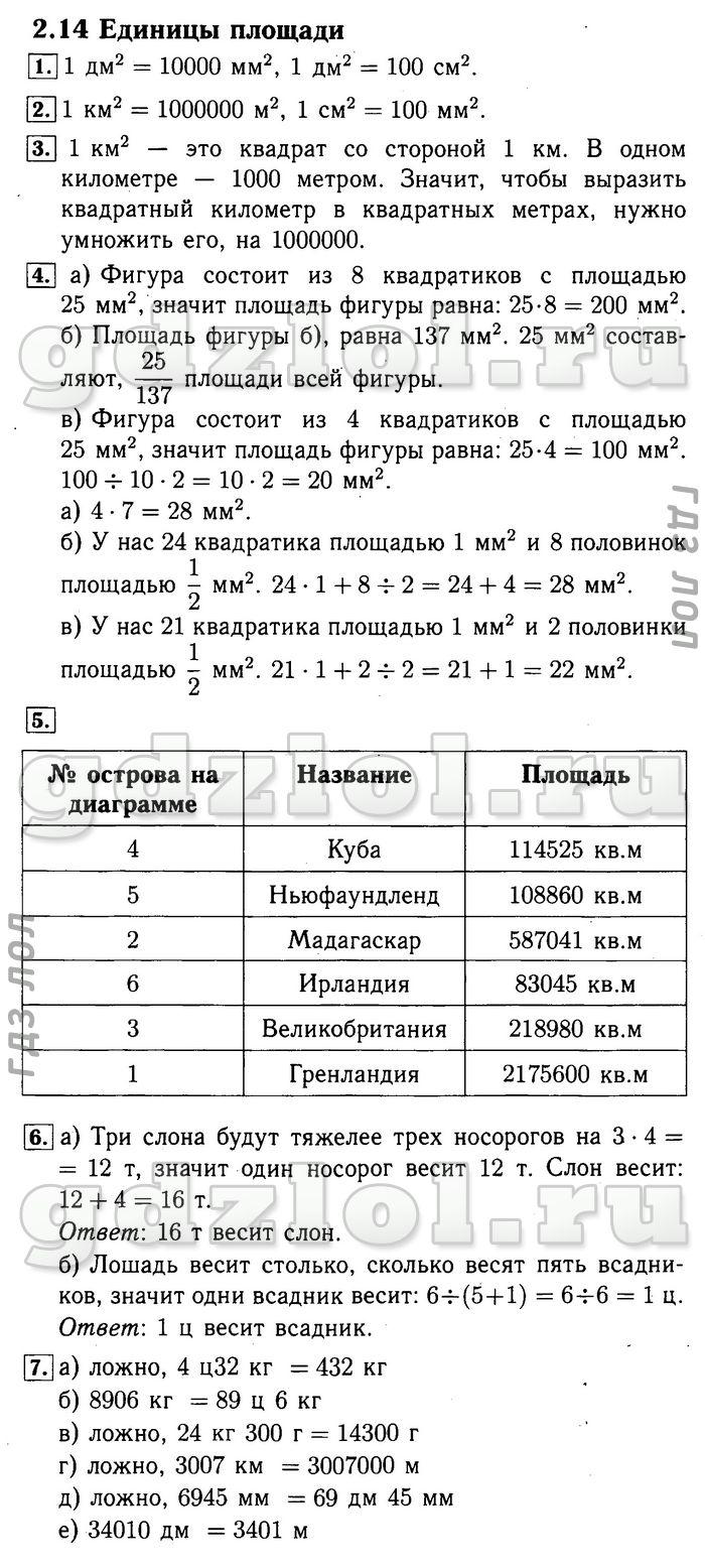 Ответы на задания по математике 1класс часть 2 т.е.демидова