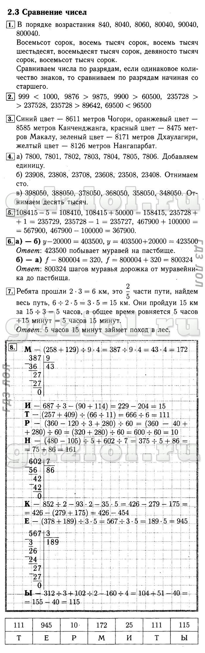 Гдз По Математике 2 Класс Демидова Козлова Тонких 2 Часть Баласс
