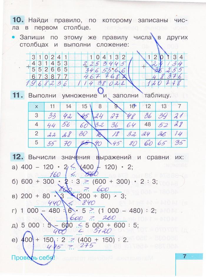 Математика 4 класс гдз по учебнику рудницкая