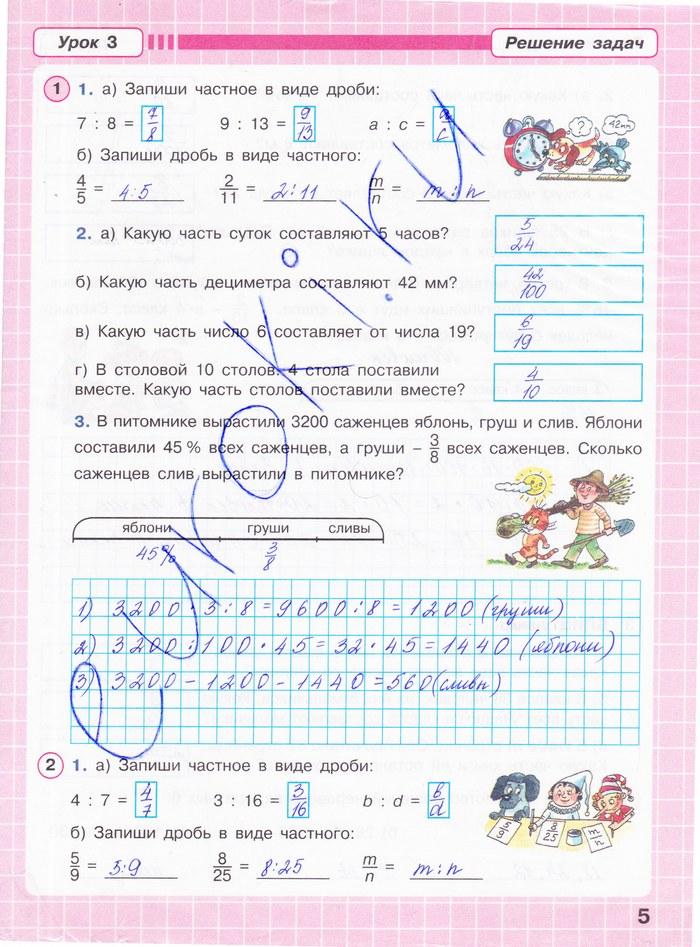 Рабочая программа математика 4 класс питерсона