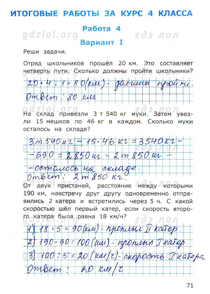 гдз по русскому языку 4 класс самсонова