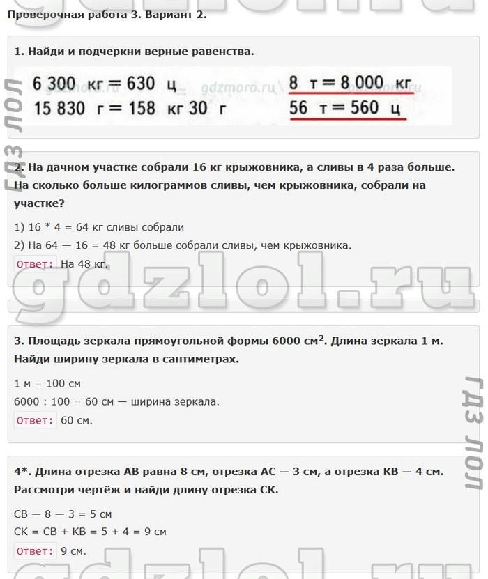 Гдз по математике 2 класс с и волкова проверочные работы ответы онлайн биткоин кошелек неверный адрес
