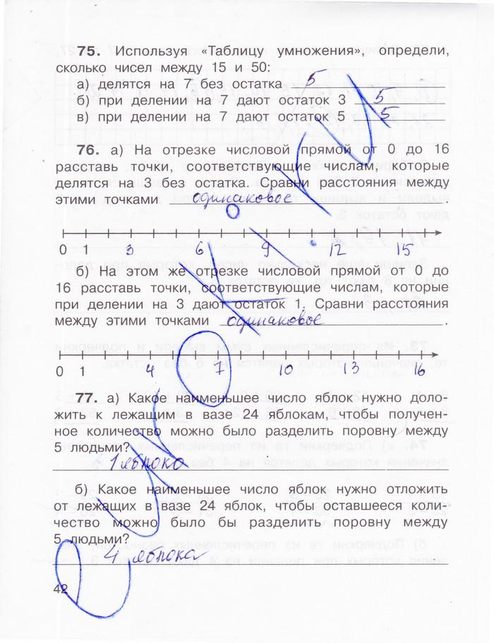 ГДЗ по матике 4 класс Захарова
