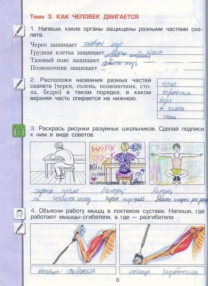 ГДЗ Решебник Окружающий мир 3 класс Вахрушев А.А.