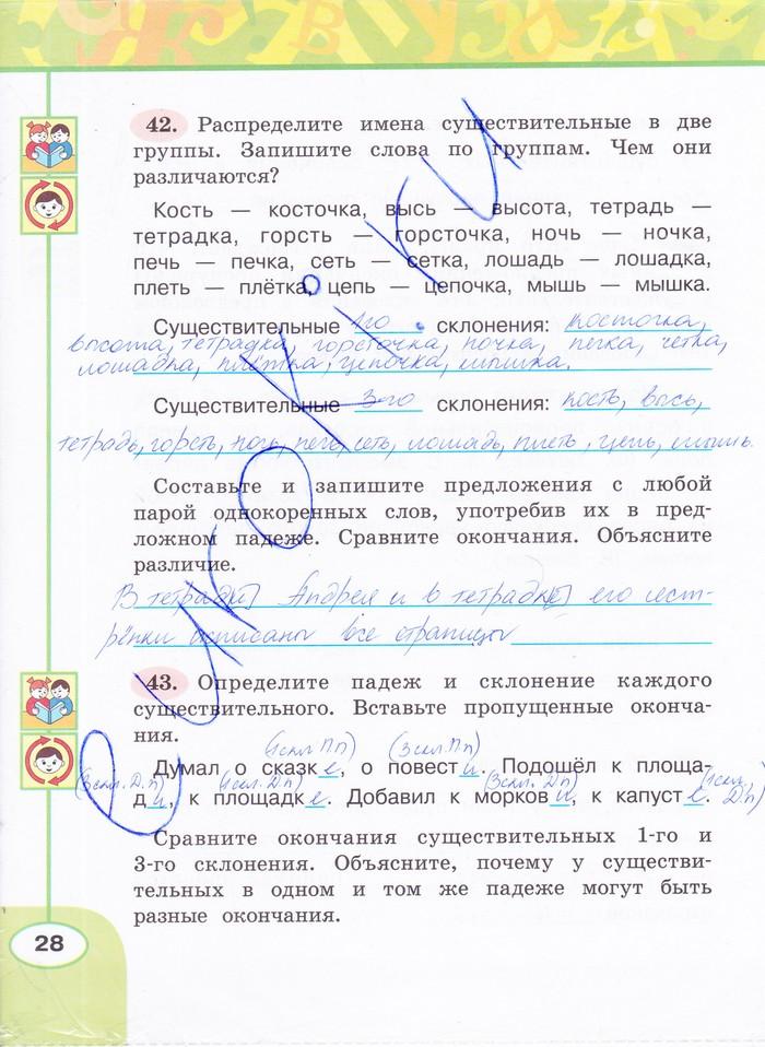 Гдз Русский Язык 2 Класс Климанова Рабочая Тетрадь Гдз