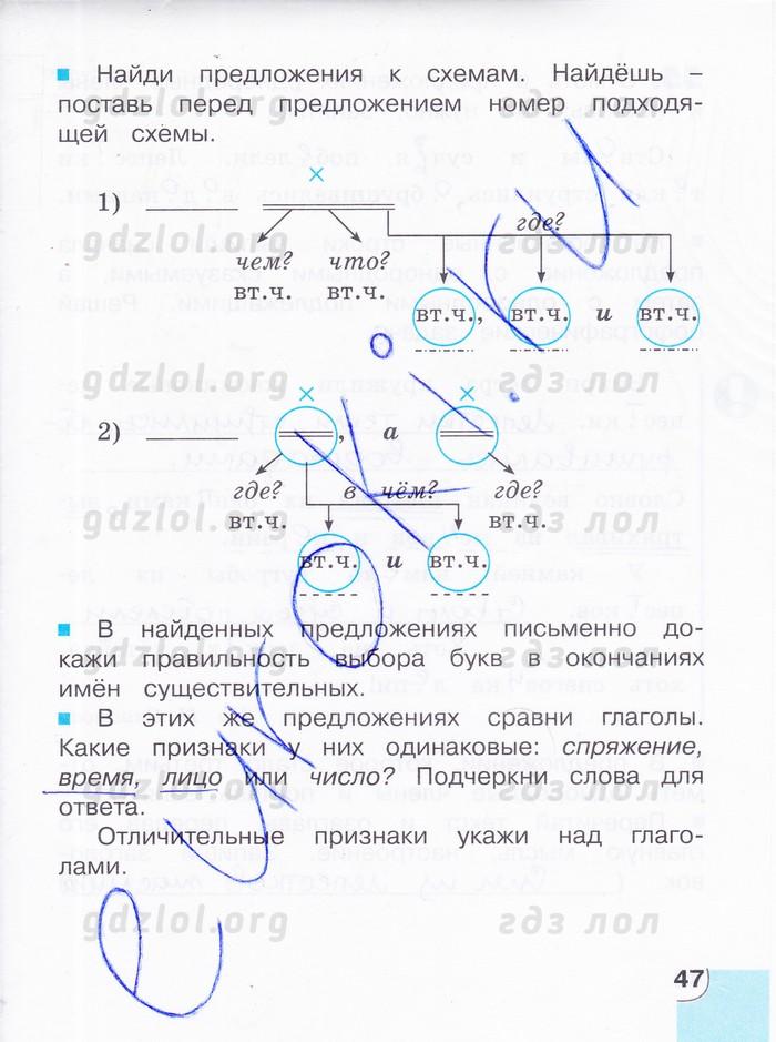 4 русский корешкова гдз язык класс