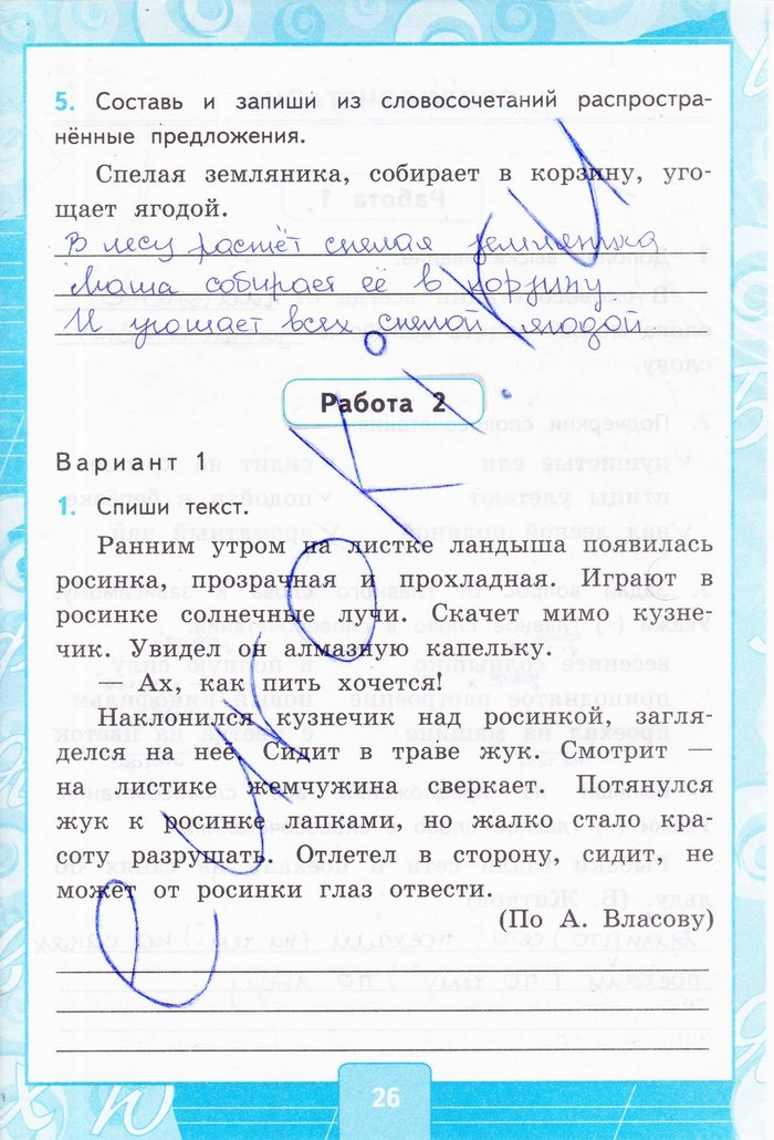 УМК Русский язык 4 класс Канакина