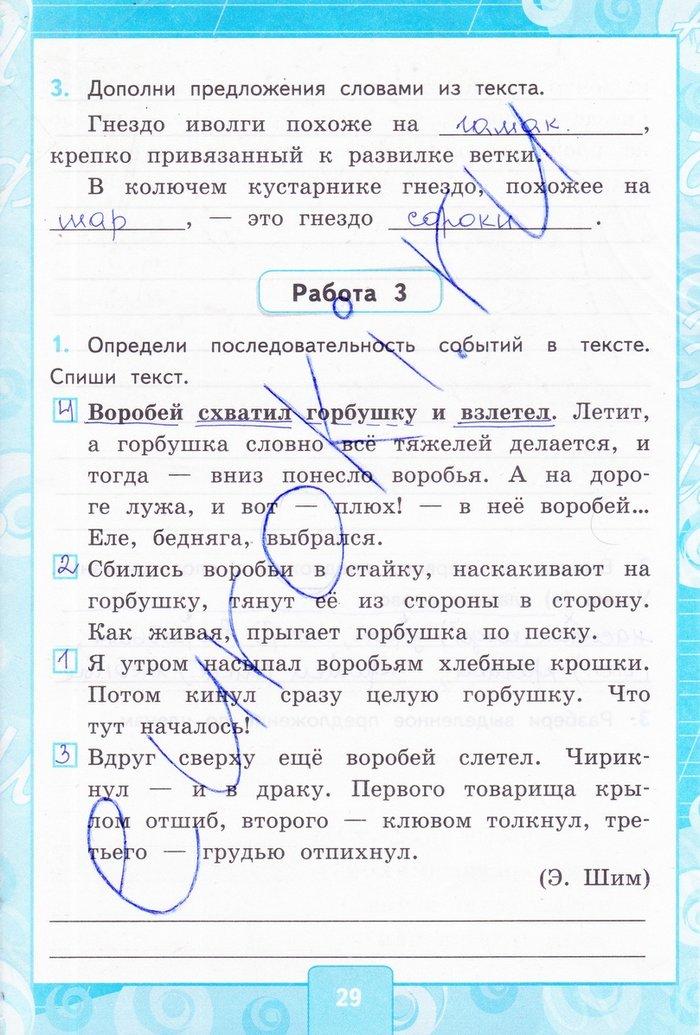 Гдз контрольная работа по русскому языку