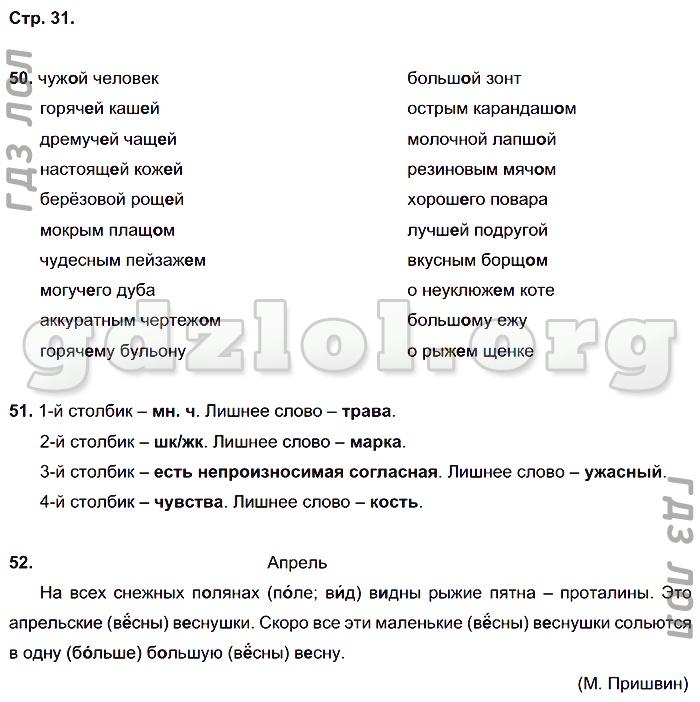 Скачать рабочую программу рамзаевой по русскому языку для 4 класса