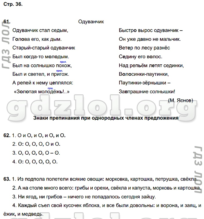 Гдз учись писать без ошибок русский язык 3 класс