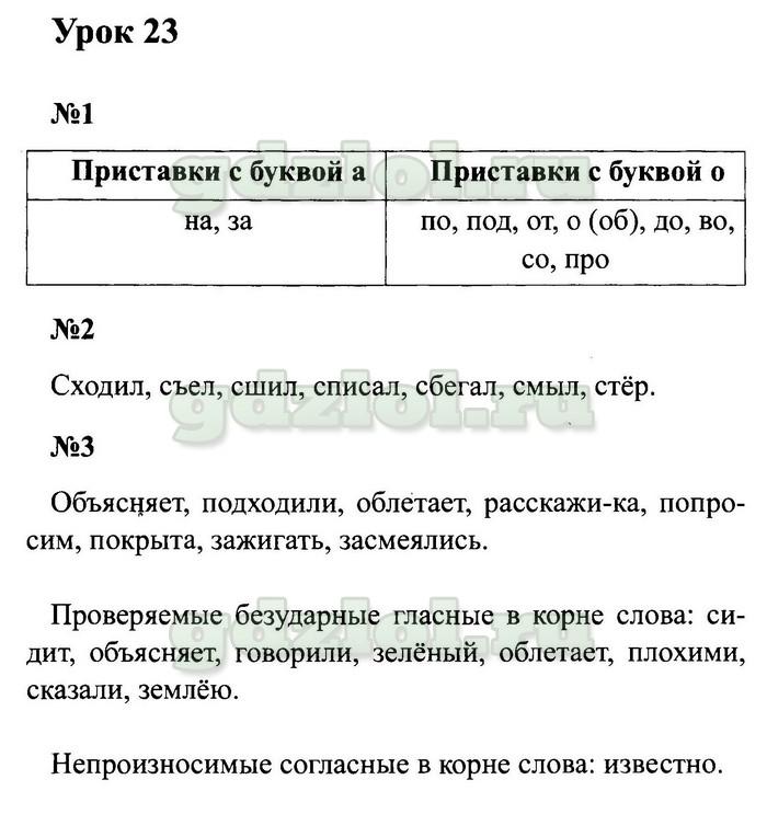гдз по русскому языку 2 класс м.и.кузнецова