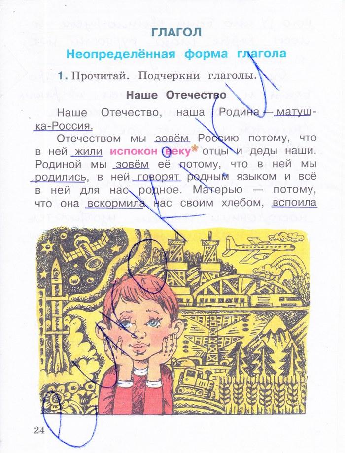 Русский язык 4 класс а.м зеленина
