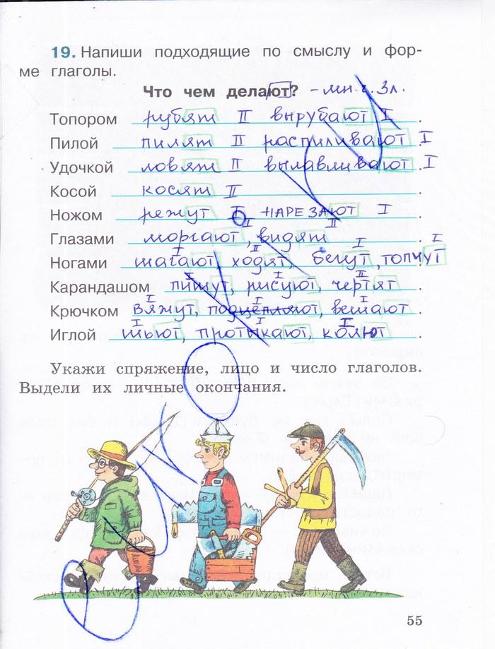 Гдз По Русскому В Тетради 4 Класс Байкова