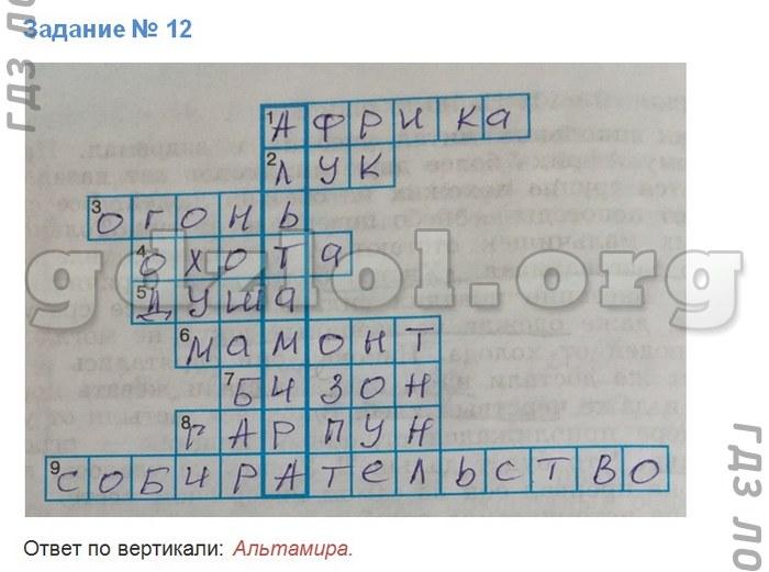 Готовое домашнее задание по истории древнего египта 5 класс г.и.годер