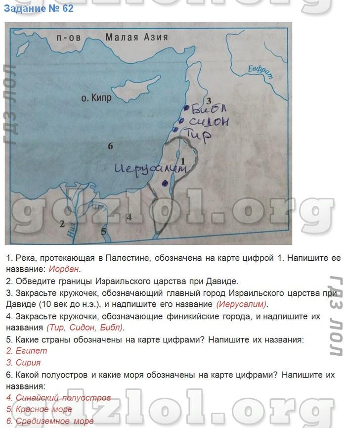 Спиши.ру по истории 5 класс рабочая тетрадь годер 1 часть