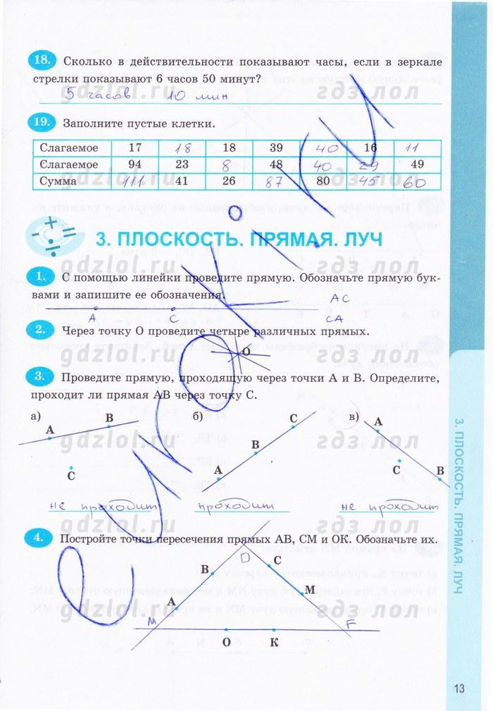 Ответы mail ru по математике рабочая тетрадь 5 класс потапов