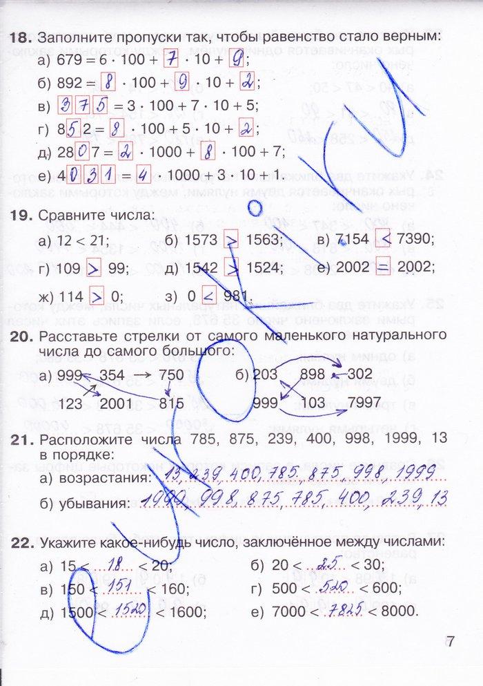 ГДЗ по математике за 6 класс, рабочая тетрадь, Потапов М. К.