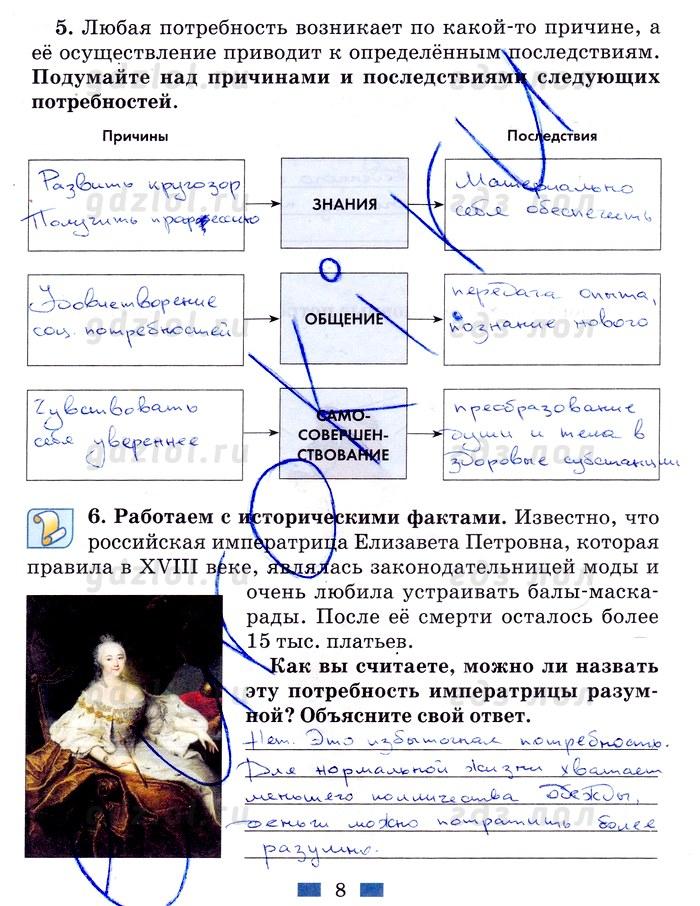 Хромова раб тетрадь онлайн 8 класс хромова онлайн