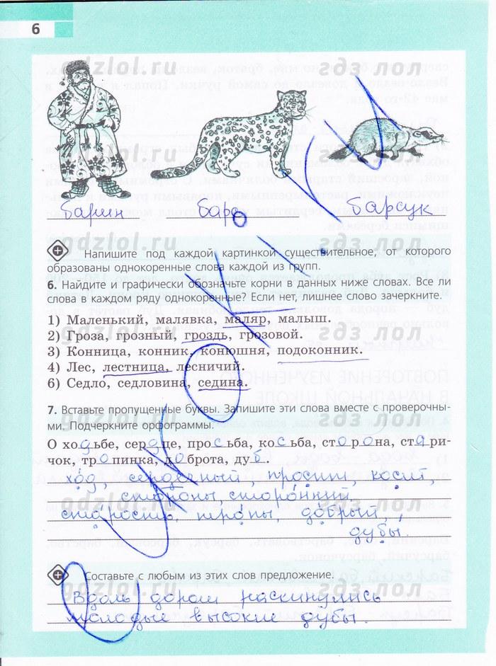 Тетрадь русский 8 класс гдз ефремова