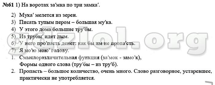 решебник по русскому языку 8 класс рыбченкова 2015
