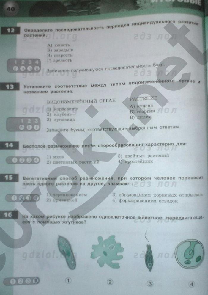 класс 7 сухорукова экзаменатор решебник тетрадь