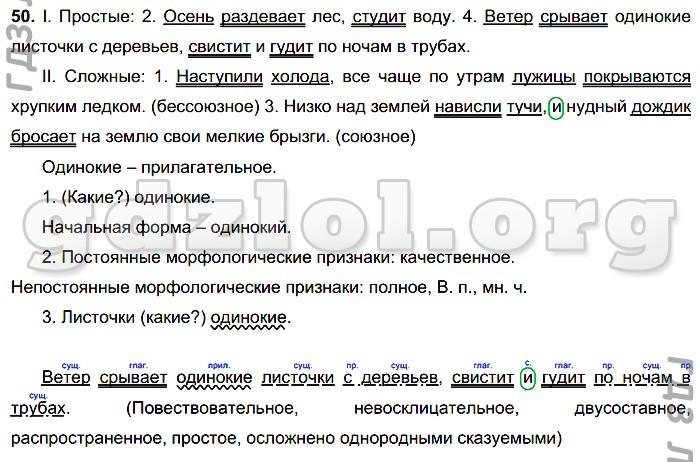 баранов кулибаба по русскому решебник 6 класс