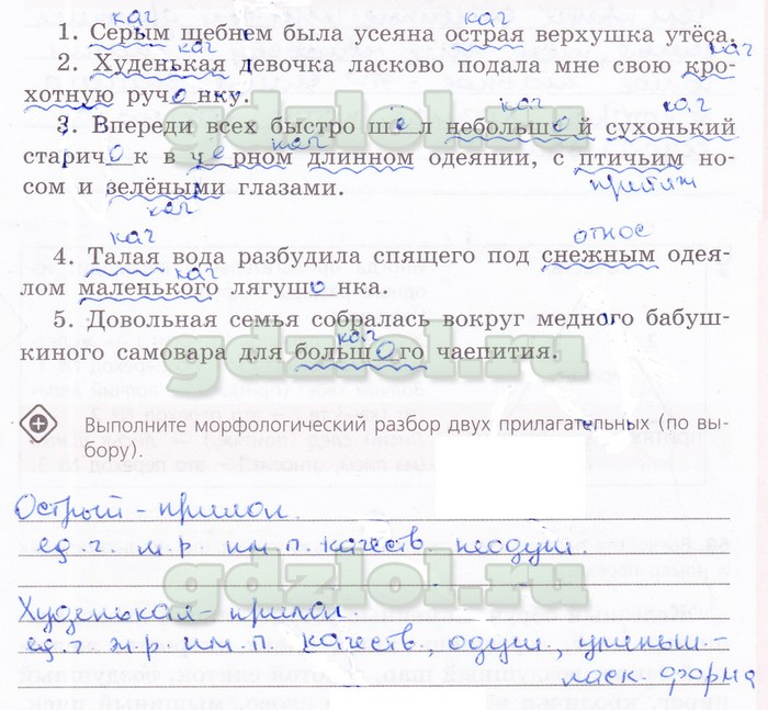 Гдз по русскому рабочая тетрадь 6 класс журавлева